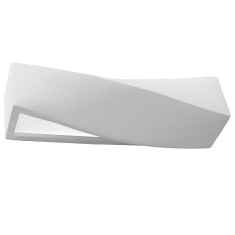 Φως τοίχου SIGMA 1xE27/60W/230V λευκό