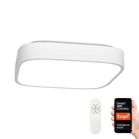 Immax NEO 07040L - Φωτιστικό οροφής dimmer LED RECUADRO LED/56W/230V + RC Tuya