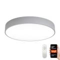 Immax NEO 07143-GR80 - Φωτιστικό οροφής LED Dimmable RONDATE LED/65W/230V Tuya γκρι + τηλεχειριστήριο