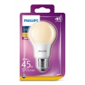 LED Λαμπτήρας Philips E27/8,5W/230V 2000K