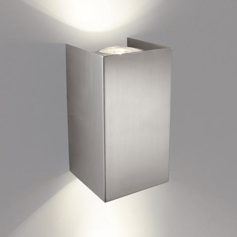 Philips 33012/17/PN - Φως τοίχου GABARDINE 2xGU10/50W/230V